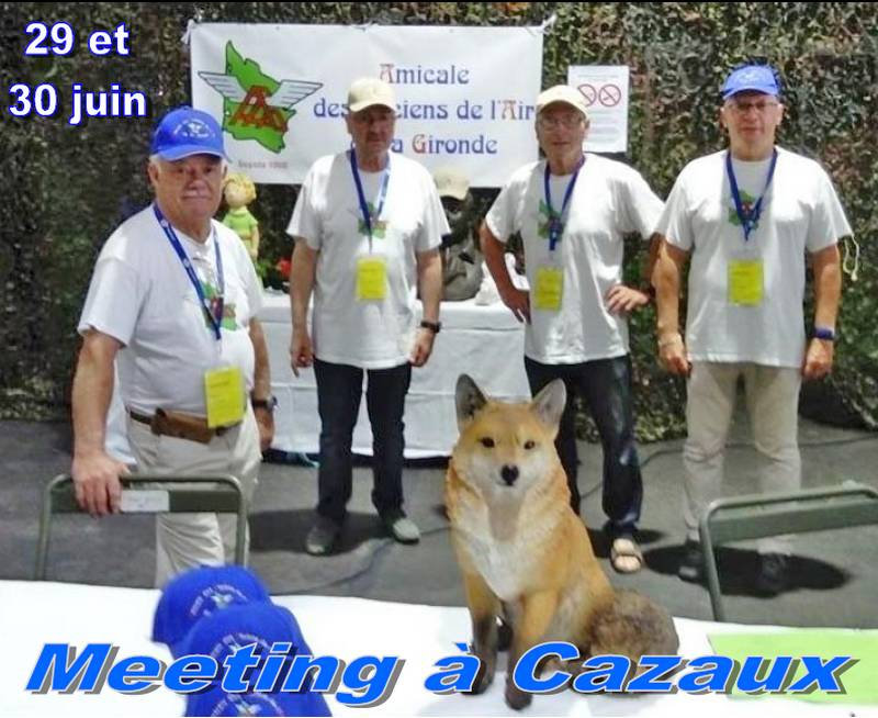 l'AAAG au meeting de Cazaux 2019